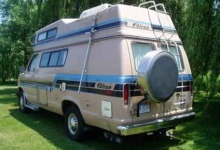 Econoline camper conversion